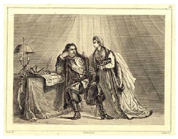 Петр и Екатерина I