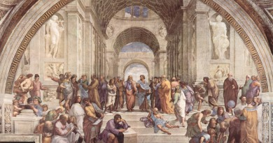 Raphael.-The-School-of-Athens-1509